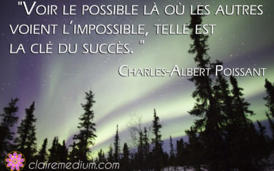 Citation de Charles-Albert Poissant