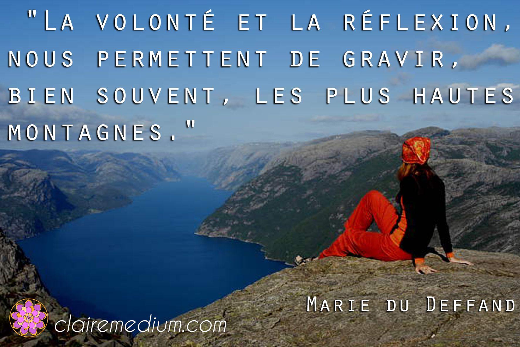 Citation de la semaine de Marie de Deffrand