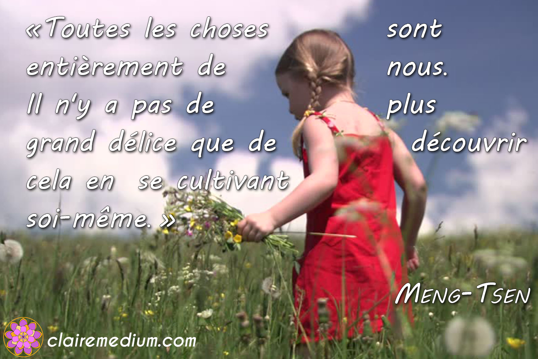 Citation de la semaine : Meng-Tsen