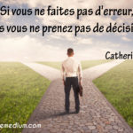 Citation de la semaine : Catherine Cook