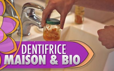 Comment faire son dentifrice maison & bio ?