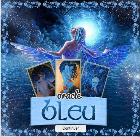Tirage gratuit : Oracle Bleu