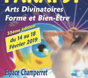 Conférence au salon Parapsy de Paris