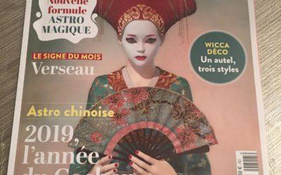 Le magazine horoscope parle de mes BD