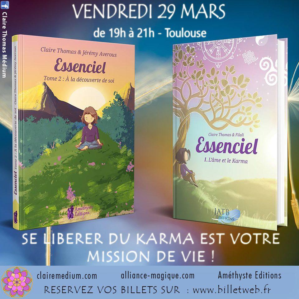 Conférence à Toulouse : Se libérer de votre karma est votre mission de vie !
