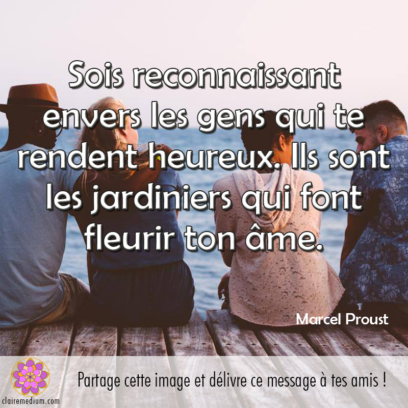 Citation : Marcel Proust