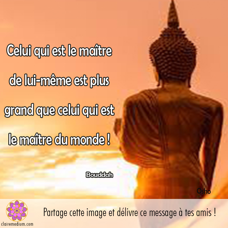 Citation : Le Bouddha