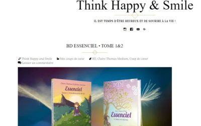 Article Essenciel Tome 1 & 2 Think Happy & Smile